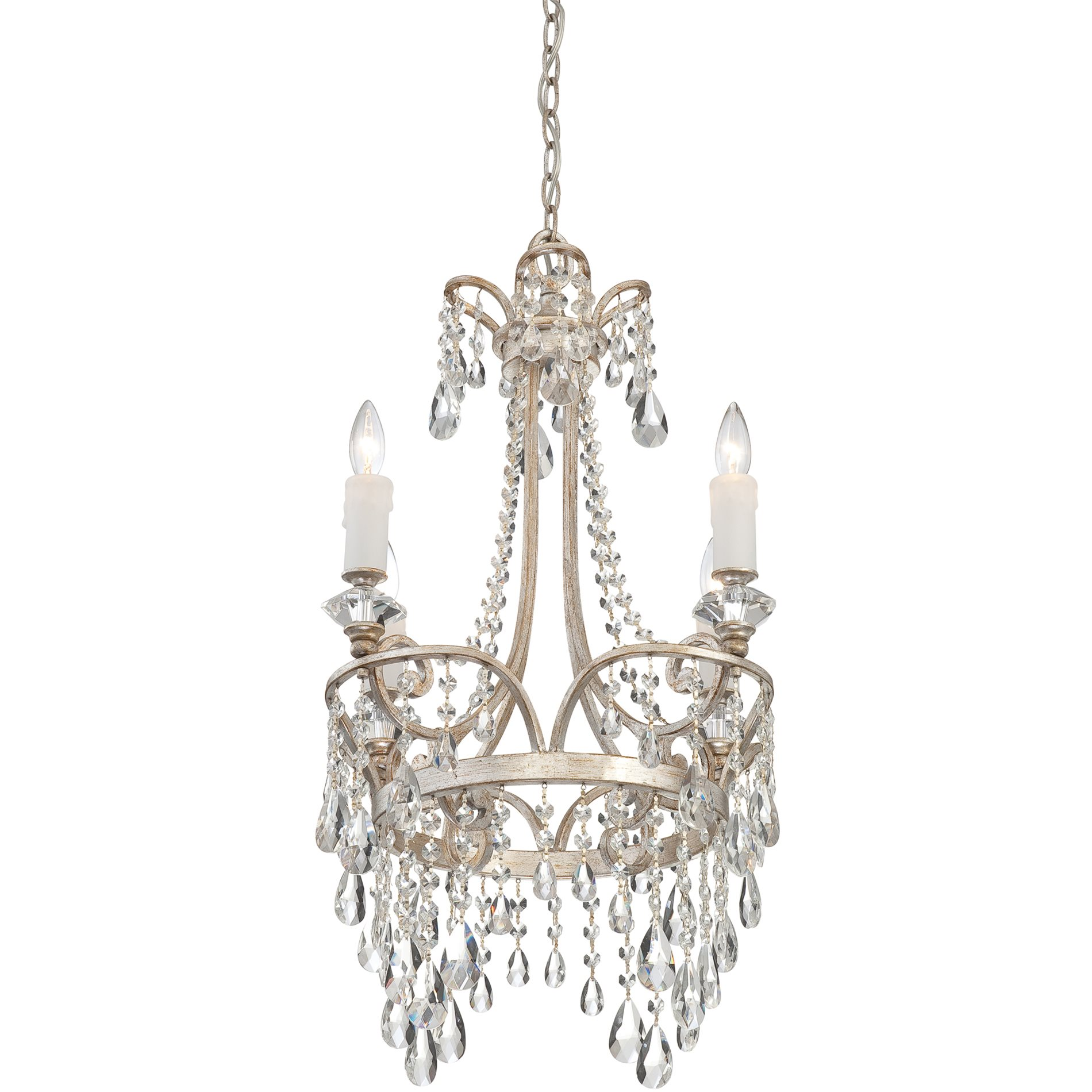 Quoizel tca5004vp tricia traditional crystal chandelier qz tca5004vp - Traditional crystal chandeliers ...