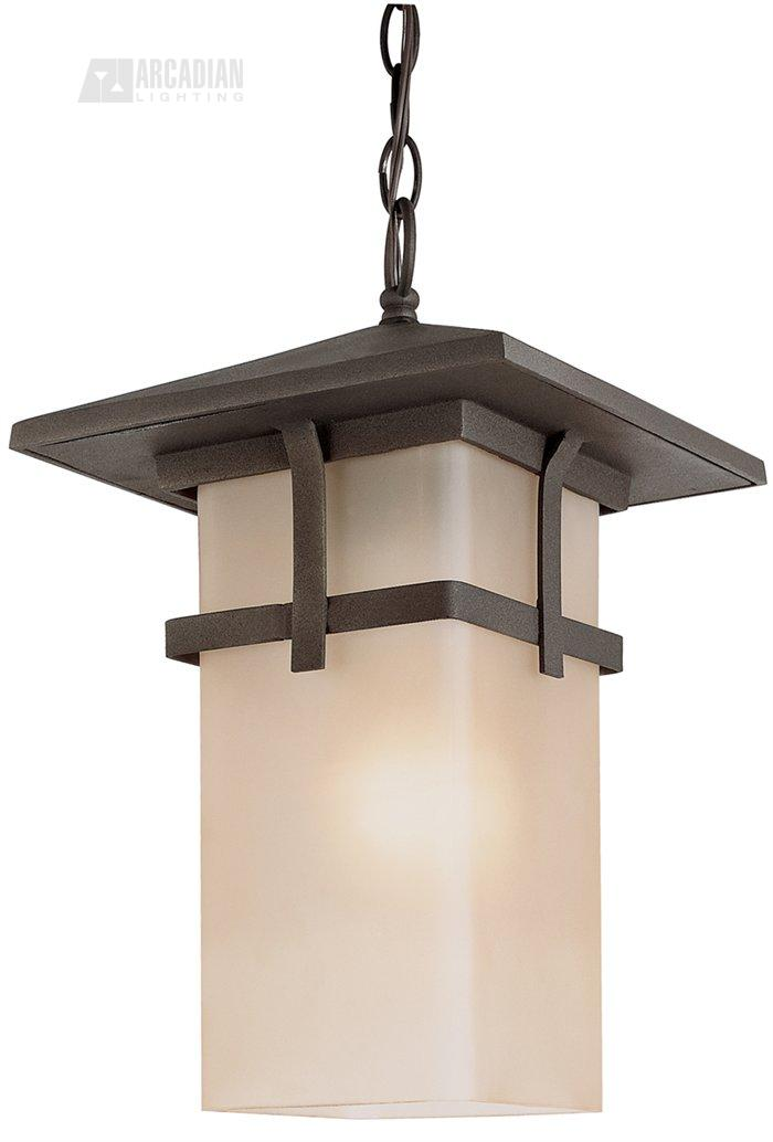 Transitional Outdoor Hanging Light