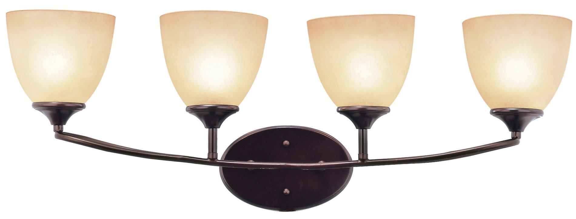 Pullman Bath Light: Trans Globe Lighting 70374 ROB Pullman Modern
