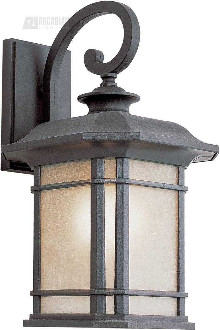 Trans Globe Lighting PL-5821 Corner Window Transitional Outdoor Wall Sconce TG-PL-5821