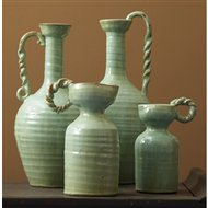Tozai Home Celadon Mediterranean Traditional Vase Toz Pop420 S4
