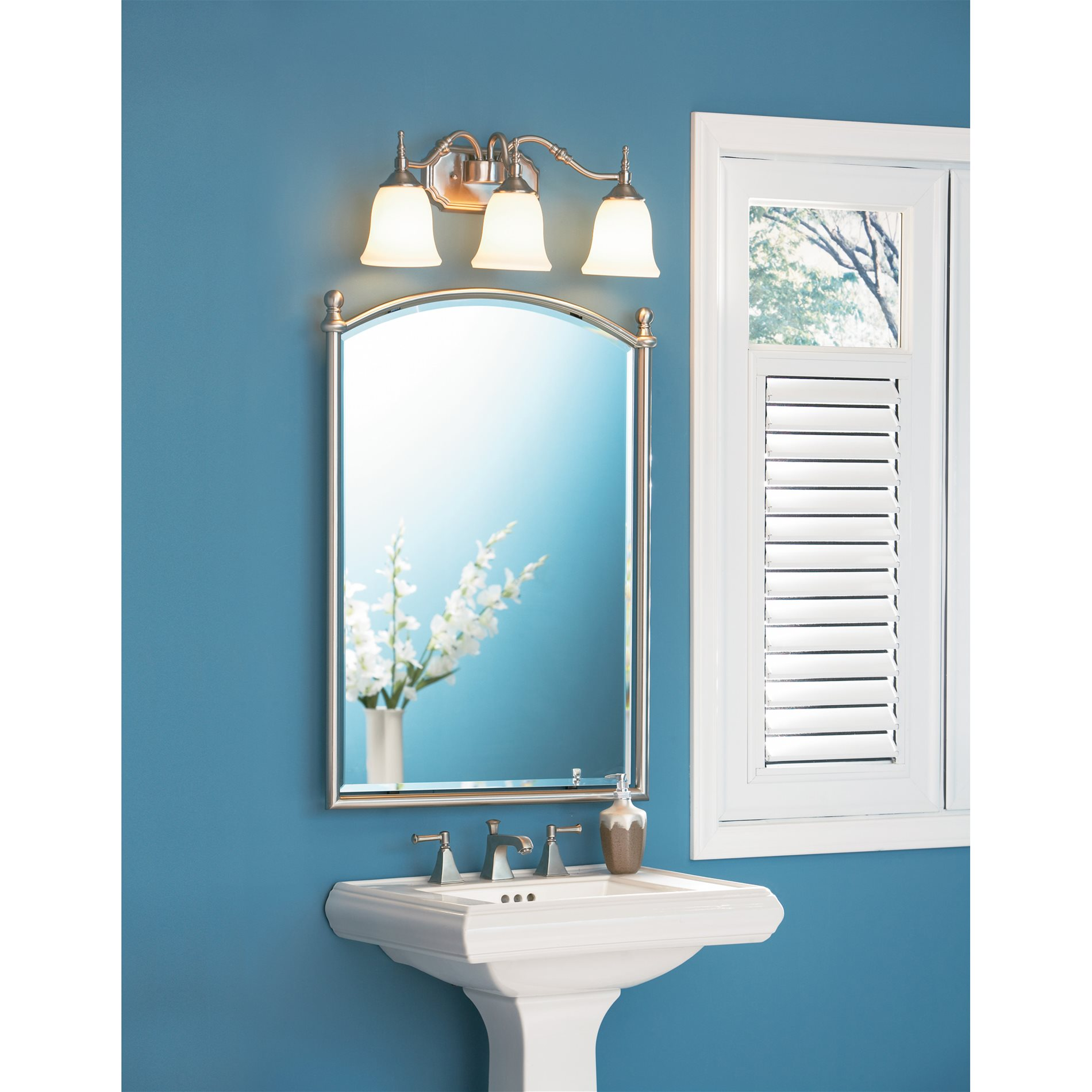 Quoizel Tt8743bn Tritan Transitional Bathroom Vanity Light Qz Tt8743bn