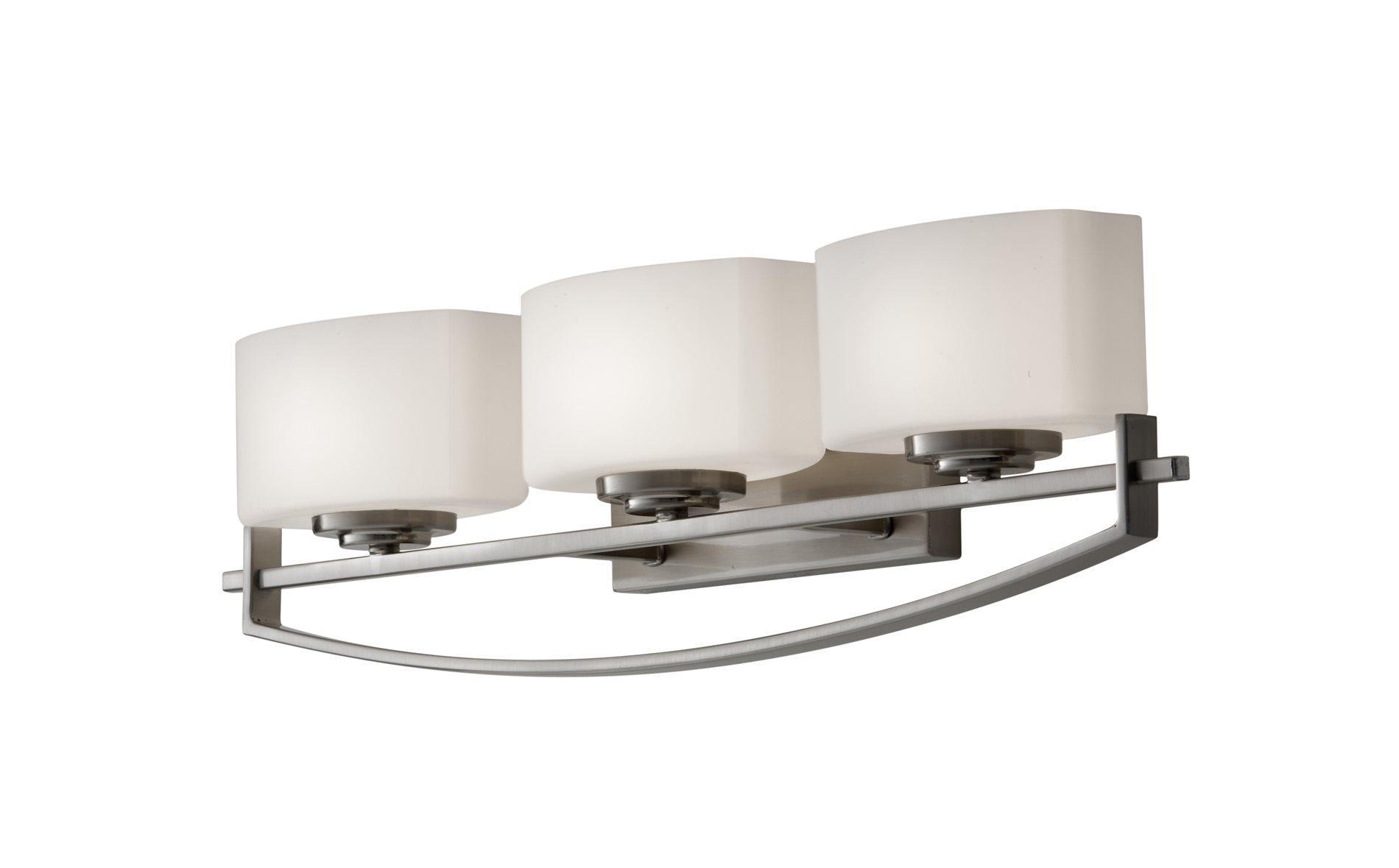 murray feiss bleeker street contemporary bathroom vanity light mrf. Black Bedroom Furniture Sets. Home Design Ideas