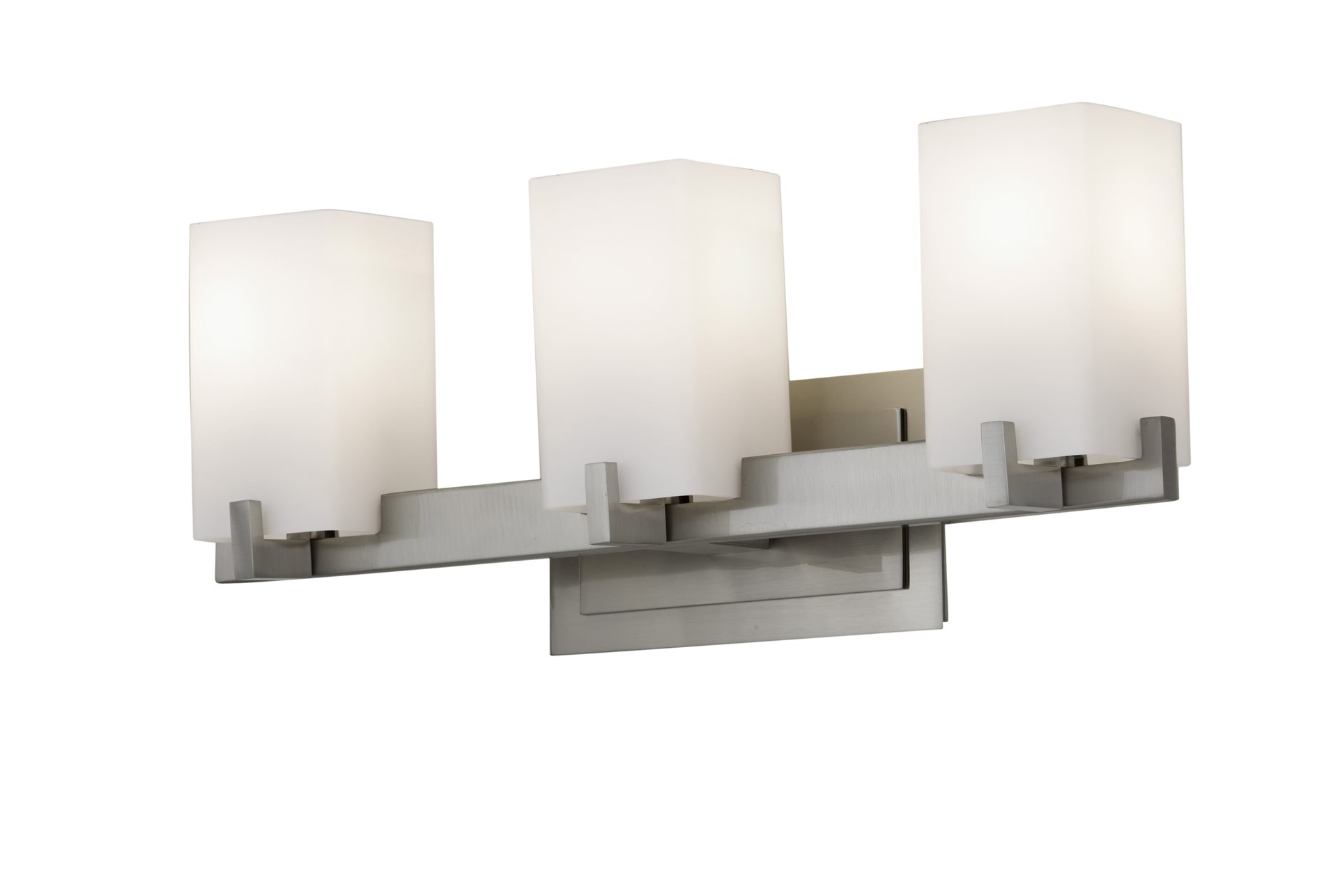 Murray Feiss Vs18403 Bs Riva Contemporary Bathroom Vanity Light Mrf Vs18403 Bs