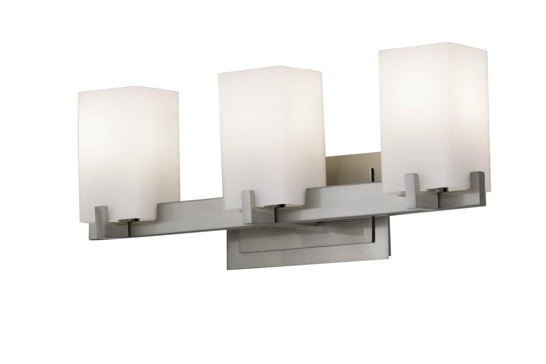 murray feiss vs18403 bs riva contemporary bathroom vanity light mrf. Black Bedroom Furniture Sets. Home Design Ideas