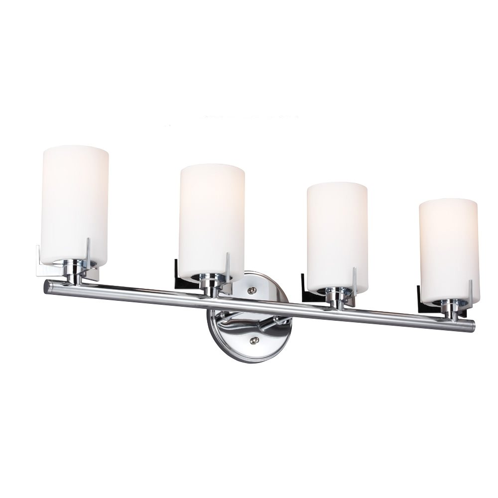 Murray Feiss Bathroom Lighting: Murray Feiss VS39004-CH Kenton Transitional Bathroom