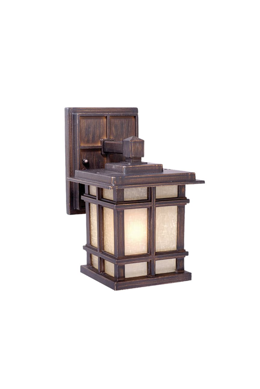 Vaxcel Lighting MH OWD050CZ Manor House Transitional Outdoor Wall Sconce VX M