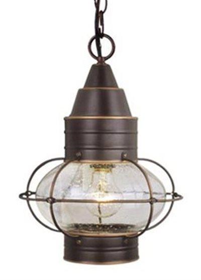 Vaxcel Lighting OD21836BBZ Nautical Traditional Outdoor Hanging Lantern VX OD