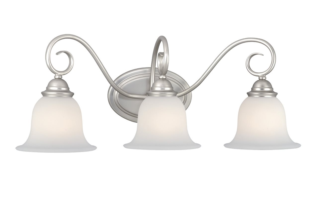 Vaxcel lighting pa vld003bn picasso traditional vanity for Traditional bathroom lighting fixtures
