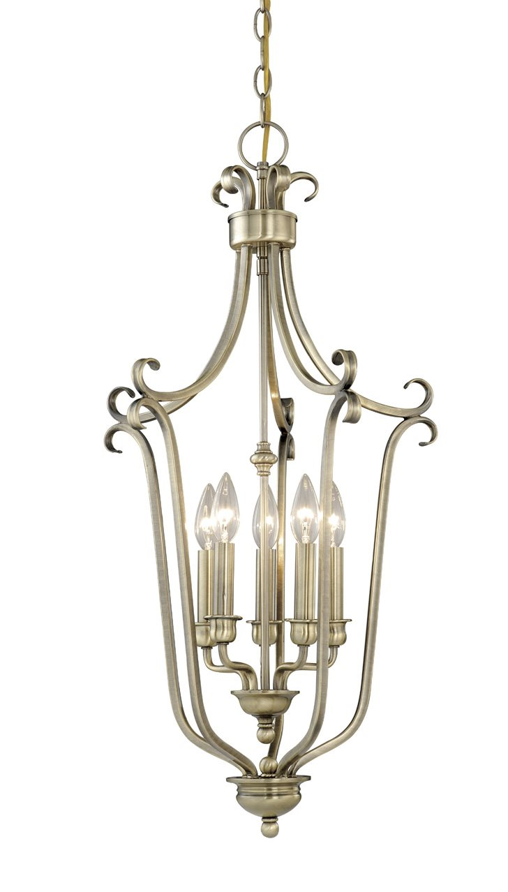 Traditional Foyer Chandeliers : Vaxcel lighting pd mont blanc traditional foyer light