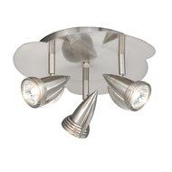 vaxcel lighting garda low voltage contemporary ceiling spot light vx sp34124sn ceiling spot lighting