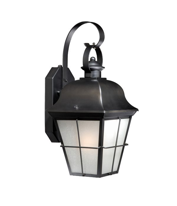 Vaxcel Lighting SR53101OR New Haven Timer with Photocell Traditional Outdoor Wall Sconce VX ...