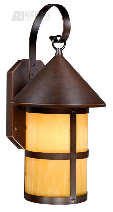 Vaxcel Lighting Sr53106bbz Mission Timer With Photocell Traditional Outdoor Wall Sconce Vx