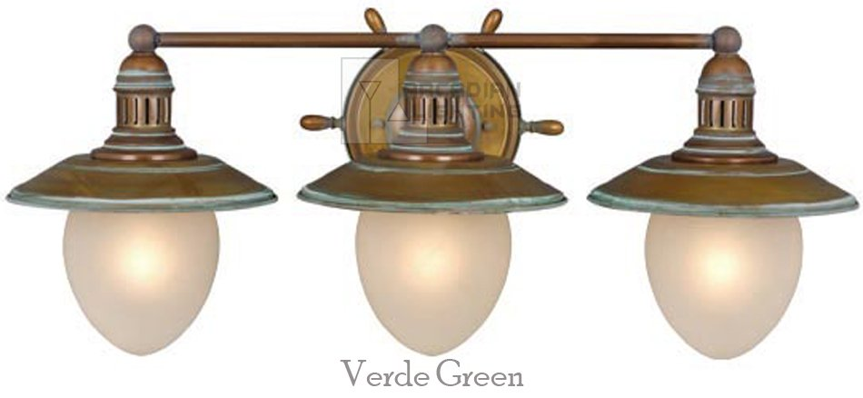 Beautiful Details About Orleans Nautical 2L Bathroom Vanity Light Vaxcel Antique