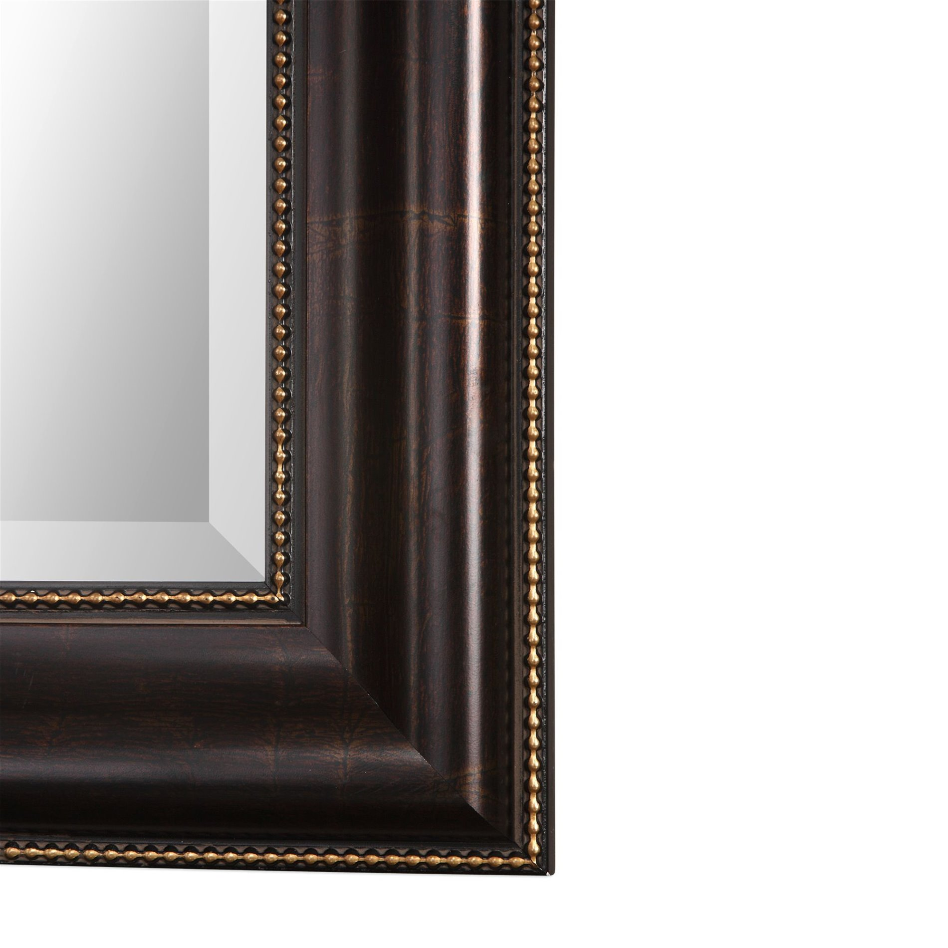 Arcadian home w00417 isabella 36 traditional beaded wall for Traditional mirror