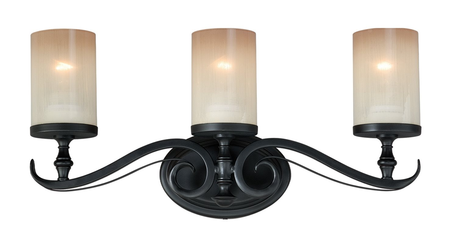Vaxcel Lighting W0045 Elba Transitional Bathroom Vanity Light Vx W0045