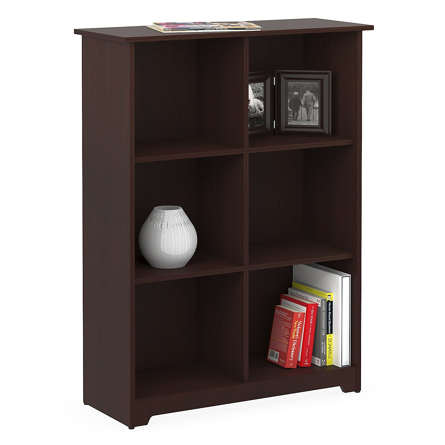 Bush Furniture WC 03 Cabot Collection Harvest Cherry