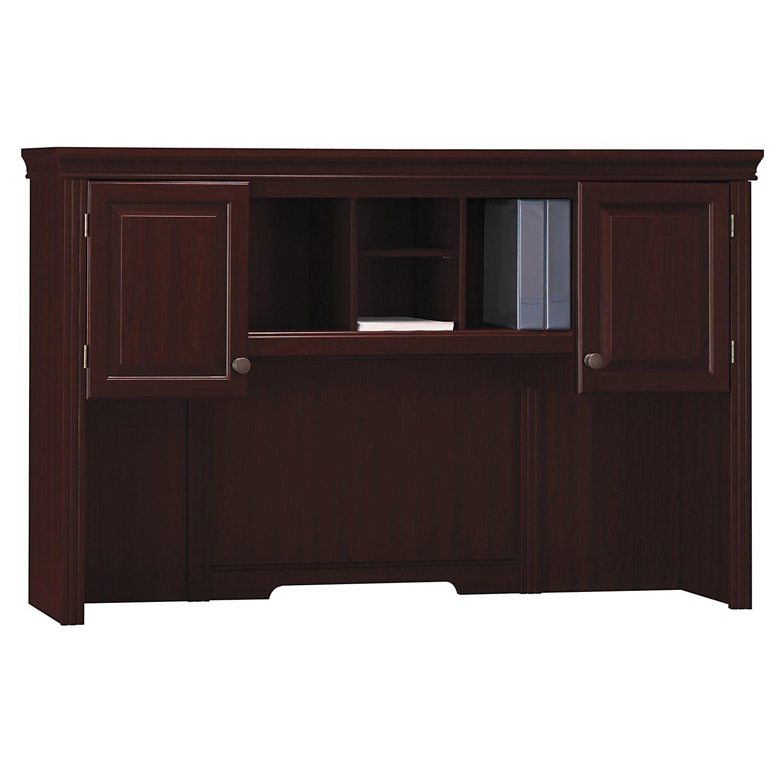 Bush furniture wc65511 03 66 credenza hutch bush wc65511 03 for Bush furniture