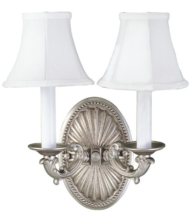 World Imports WI620817 Pewter Traditional Wall Sconce WI-6208-17