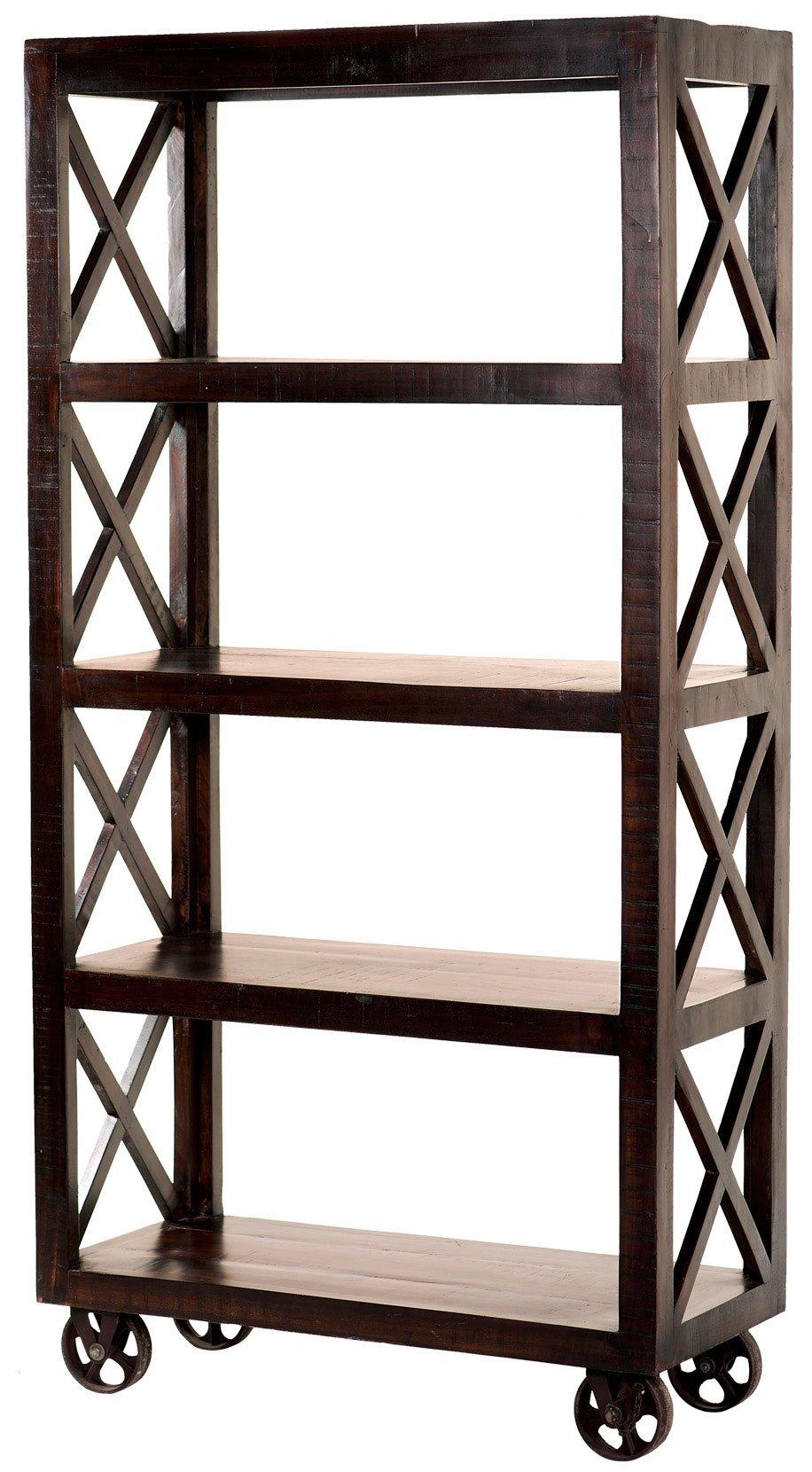yosemite home decor yfur sba5394 espresso etagere bookcase. Black Bedroom Furniture Sets. Home Design Ideas