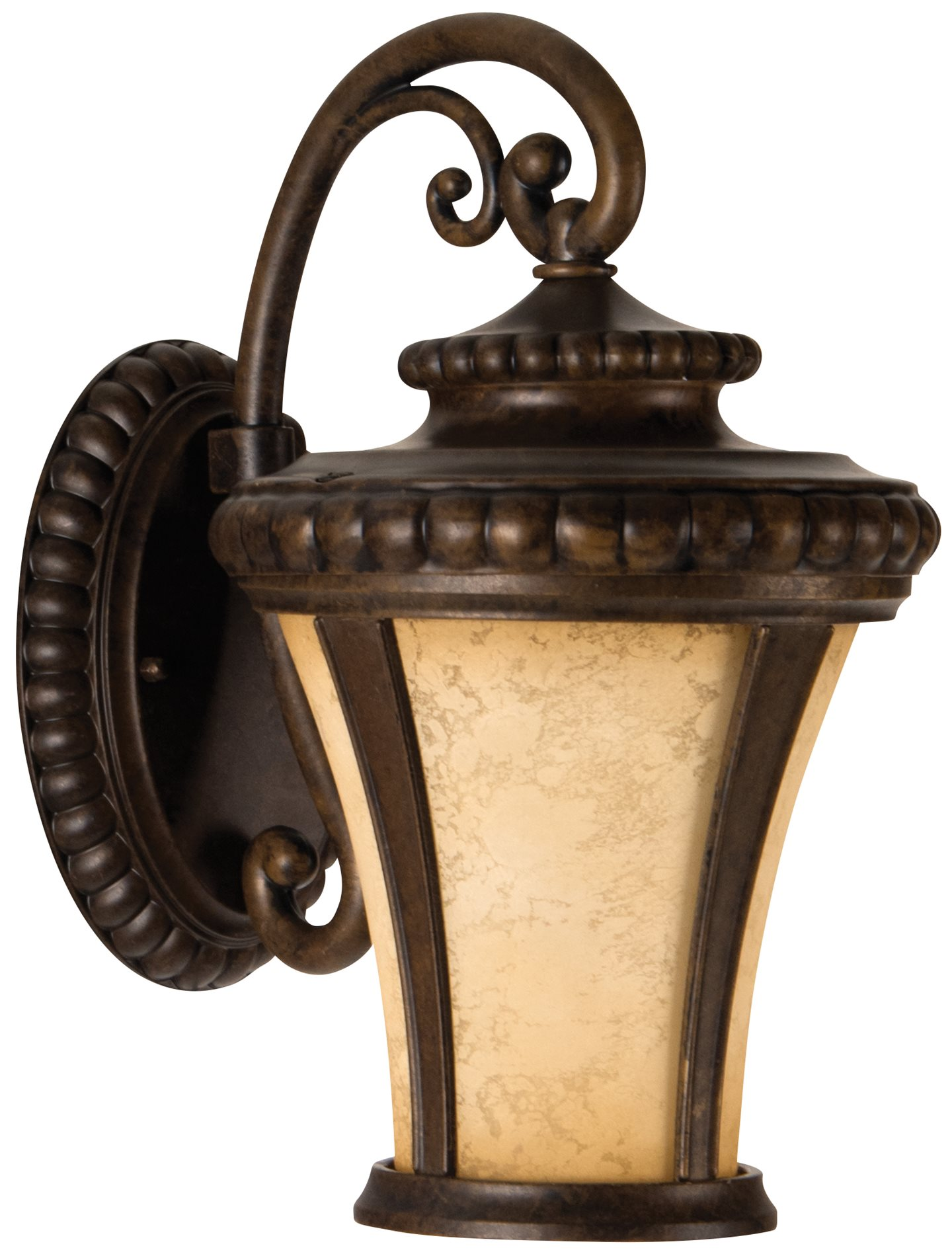 Craftmade Z1204-112-LED Prescott Traditional Outdoor Wall Sconce - Small CM-Z1204-112-LED