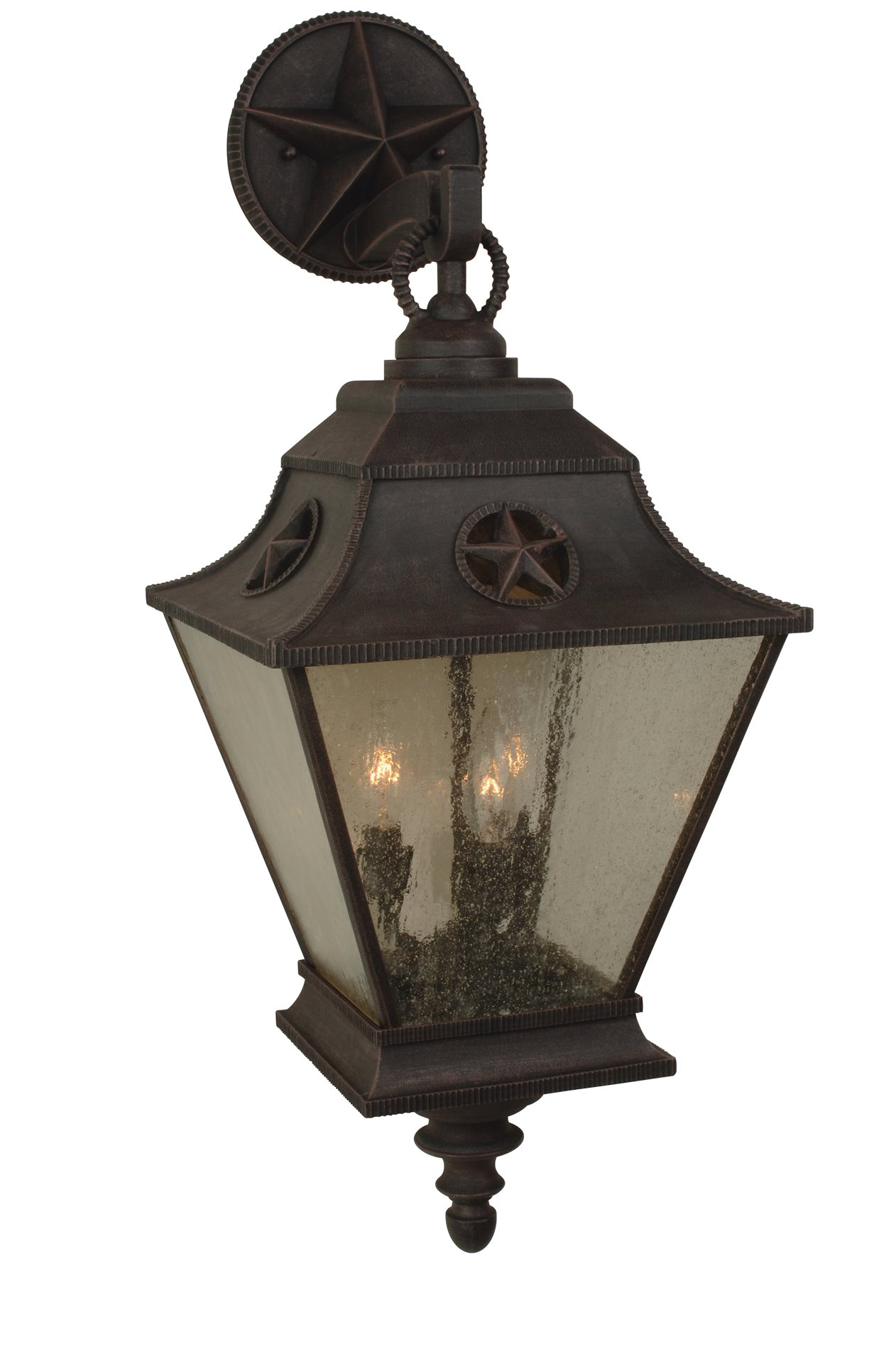 Craftmade Z1414-07 Chaparral Traditional Outdoor Wall Sconce - Large CM-Z1414-07