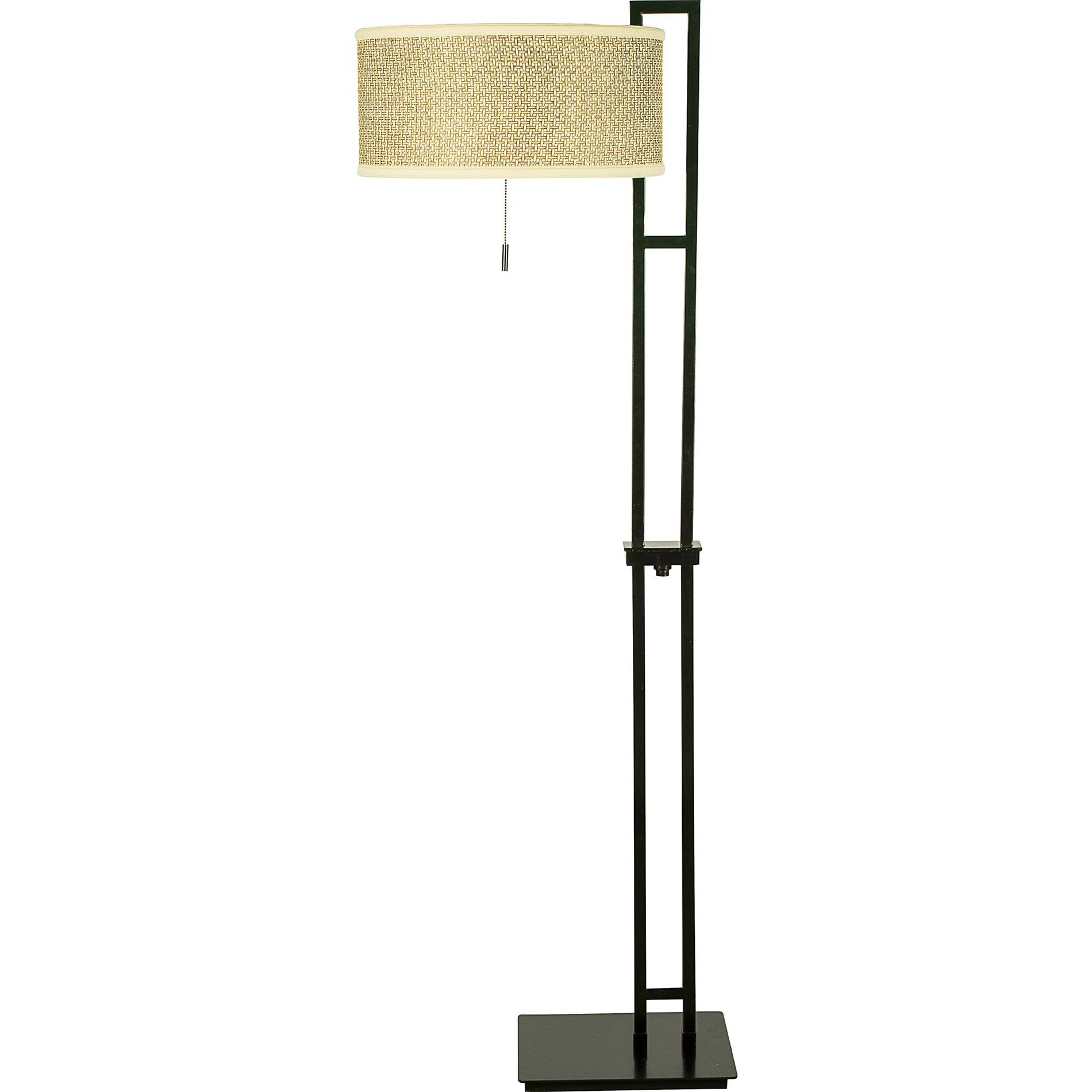 Quoizel ze9363k zen contemporary floor lamp qz ze9363k for Zen lighting fixtures