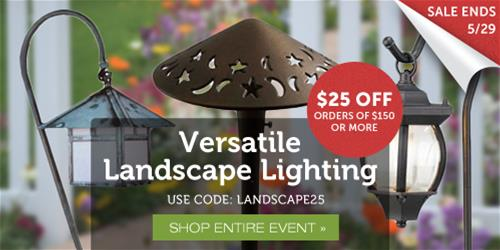 Versatile Landscape Lighting