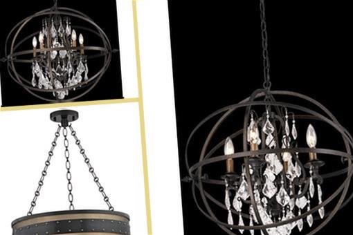 Seen In These Collections & Troy Lighting F2996 Byron Traditional Crystal Chandelier TL-F2996 azcodes.com
